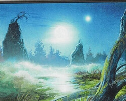 Magic the Gathering 8th Edition Card: Swamp (c)