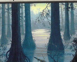 Magic the Gathering 8th Edition Card: Swamp (d)