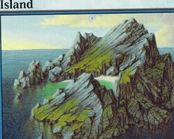 Magic the Gathering 9th Edition Card: Island (b)