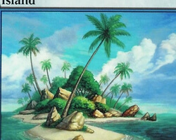 Magic the Gathering 9th Edition Card: Island (c)