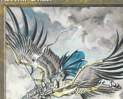 Magic the Gathering Alliances Card: Aesthir Glider (a)