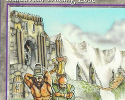 Magic the Gathering Alliances Card: Balduvian Trading Post