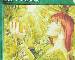 Magic the Gathering Alliances Card: Taste of Paradise