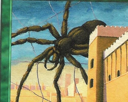 Magic the Gathering Anthologies Card: Giant Spider