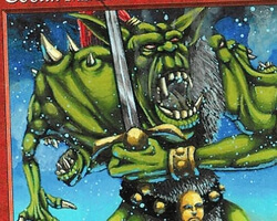 Magic the Gathering Anthologies Card: Goblin Mutant from Ice Age