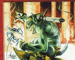 Magic the Gathering Anthologies Card: Goblin Tinkerer from Mirage