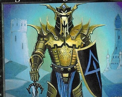 Magic the Gathering Anthologies Card: Knight of Stromgald from Ice Age