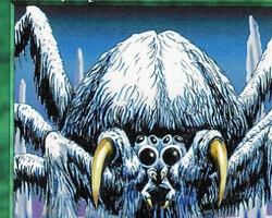 Magic the Gathering Anthologies Card: Wooly Spider from Ice Age