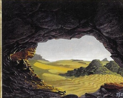 Magic the Gathering Apocalypse Card: Caves of Koilos