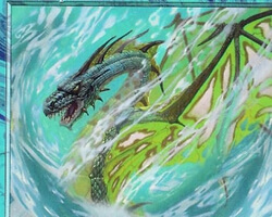 Magic the Gathering Apocalypse Card: Whirlpool Drake
