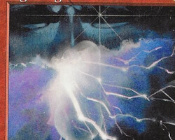 Magic the Gathering Battle Royale Card: Lightning Elemental from Tempest