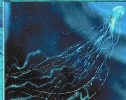 Magic the Gathering Battle Royale Card: Man-o'-War from Visions