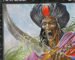 Magic the Gathering Battle Royale Card: Nekrataal from Visions