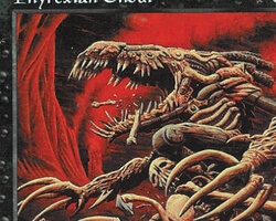 Magic the Gathering Battle Royale Card: Phyrexian Ghoul from Urza's Saga