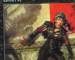 Magic the Gathering Battle Royale Card: Unnerve from Urza's Saga