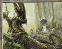 Magic the Gathering Beatdown Card: Polluted Mire from Urza's Saga