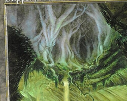 Magic the Gathering Beatdown Card: Slippery Karst from Urza's Saga
