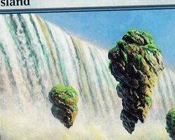 Magic the Gathering Champions of Kamigawa Card: Island (a)
