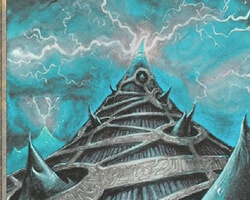 Magic the Gathering Fallen Empires Card: Delif's Cone