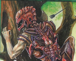 Magic the Gathering Homelands Card: Carapace