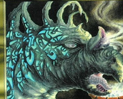 Magic the Gathering Ice Age Card: Elemental Augury