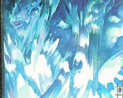 Magic the Gathering Ice Age Card: Icequake