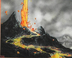 Magic the Gathering Ice Age Card: Lava Burst