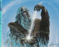 Magic the Gathering Ice Age Card: Zuran Spellcaster