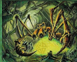 Magic the Gathering Invasion Card: Pincer Spider