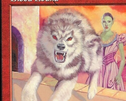 Magic the Gathering Mercadian Masques Card: Blood Hound