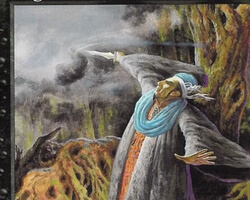 Magic the Gathering Mercadian Masques Card: Bog Witch