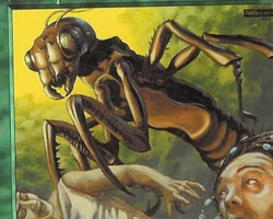 Magic the Gathering Mercadian Masques Card: Deadly Insect