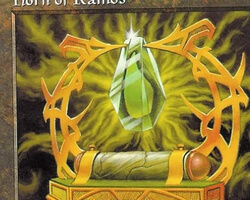 Magic the Gathering Mercadian Masques Card: Horn of Ramos