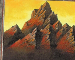 Magic the Gathering Mercadian Masques Card: Mountain (a)