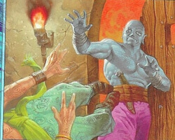 Magic the Gathering Mercadian Masques Card: Shoving Match