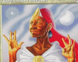 Magic the Gathering Mirage Card: Auspicious Ancestor