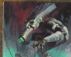 Magic the Gathering Mirage Card: Bone Mask