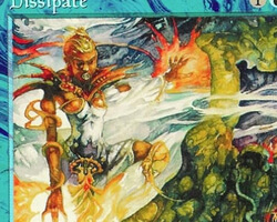 Magic the Gathering Mirage Card: Dissipate