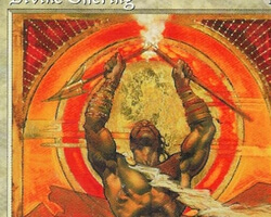 Magic the Gathering Mirage Card: Divine Offering