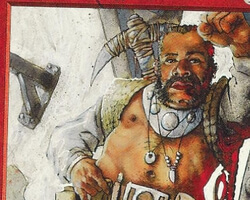 Magic the Gathering Mirage Card: Dwarven Miner