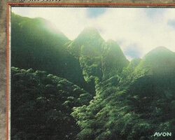 Magic the Gathering Mirage Card: Mountain (a)