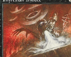 Magic the Gathering Mirage Card: Phyrexian Tribute