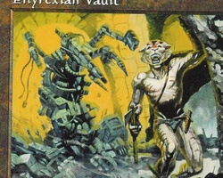 Magic the Gathering Mirage Card: Phyrexian Vault