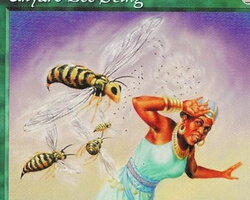 Magic the Gathering Mirage Card: Unyaro Bee Sting
