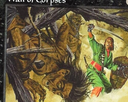 Magic the Gathering Mirage Card: Wall of Corpses