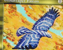 Magic the Gathering Mirage Card: Windreaper Falcon