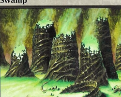 Magic the Gathering Mirrodin Card: Swamp (c)