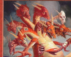 Magic the Gathering Nemesis Card: Ancient Hydra