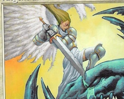 Magic the Gathering Nemesis Card: Angelic Favor
