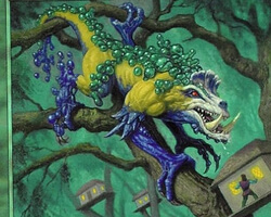 Magic the Gathering Nemesis Card: Blastoderm